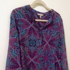 Banana Republic Long Sleeve Blouse Size: S
